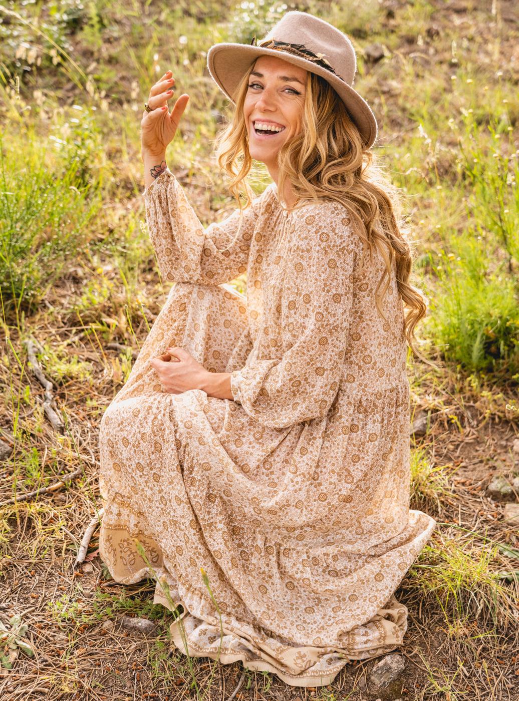 Vestido Pam Beige