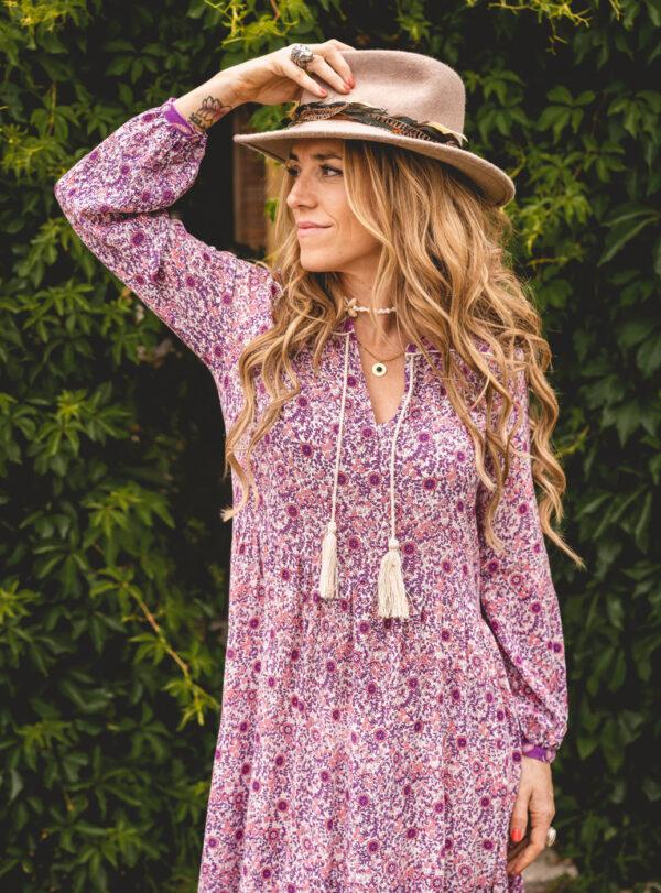 Vestido Pam Violeta